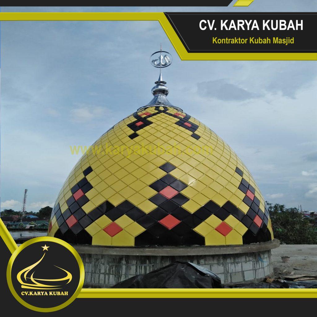 Portofolio Kubah Masjid Banjar Masin