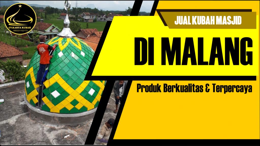 Jual Kubah Masjid Dimalang