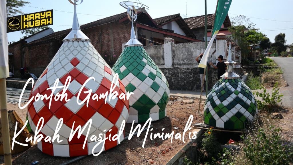 13. Contoh Gambar Kubah Masjid Minimalis