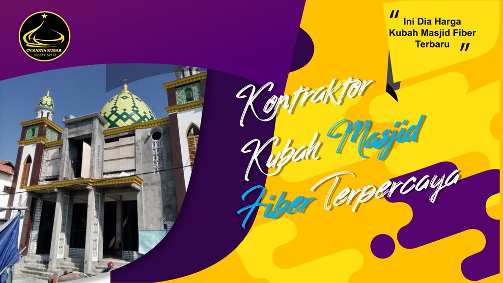 18. Harga Kubah Masjid Fiber Terbaru