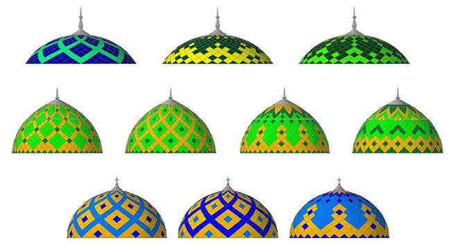 Bentuk Kubah Masjid Terbaru