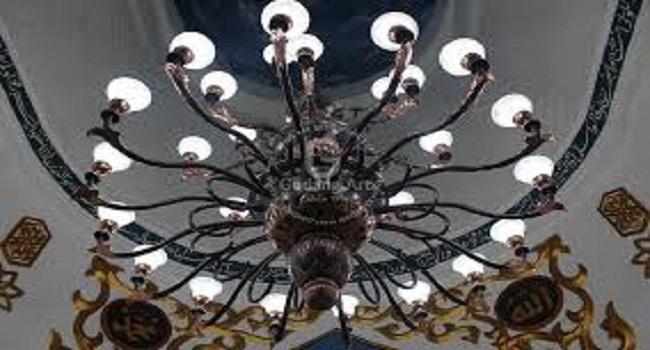 Lampu Kubah Masjid