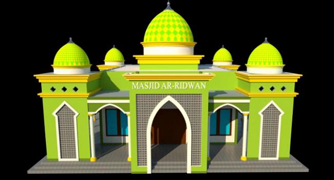 Warna Cat Kubah Masjid