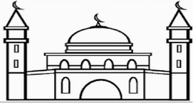 Gambar Kerangka Masjid