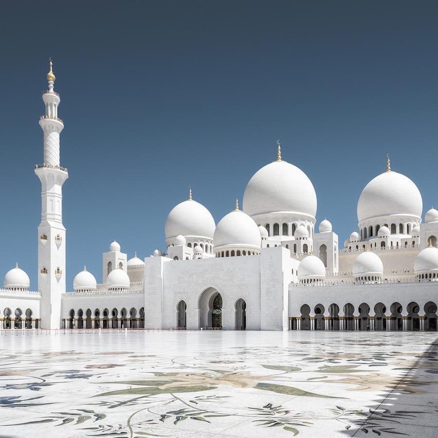 Sheikh Zayed Mosque View