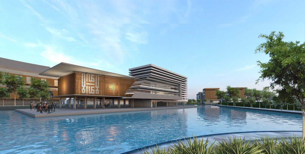 Photo Masjid Seroja Residential Development Desain Arsitek Oleh Alien Design Consultant